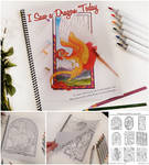 Coloring Book! - I Saw a Dragon Today