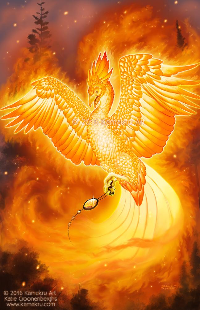 Fire Phoenix by Kamakru