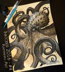 Inktober 2016 #4 - The Kraken