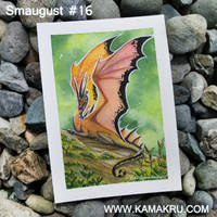 Smaugust/Dragonbrushed #16 by Kamakru