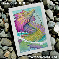 Smaugust / Dragonbrushed #18 by Kamakru