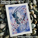 Dragonbrushed [Smaugust] #26 - Cherry Blossom