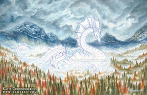 Serpent of the Autumn Mists by Kamakru