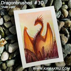 Dragonbrushed #30 - Dusk Light