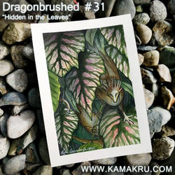 Dragonbrushed #31 - Hidden in the Leaves