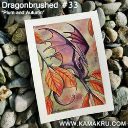 Dragonbrushed 33: 'Autumn Plum'