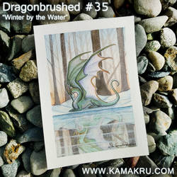 Dragonbrushed 34 - Winter by the Water