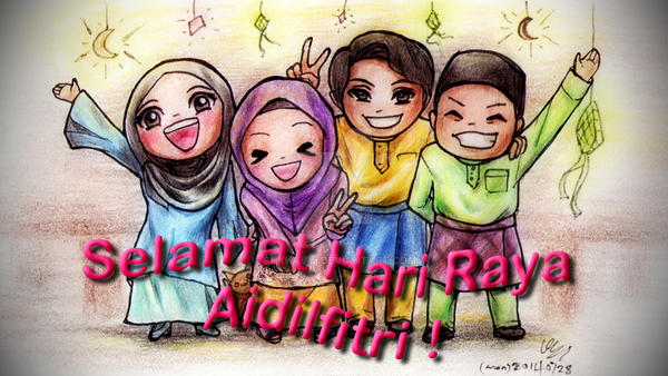 Selamat Hari Raya Aidilfitri by BukkaVYi on DeviantArt