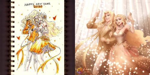 New Year Couple Lancelot Odette 2020 comparison