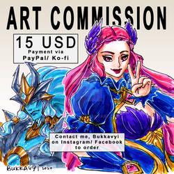 BUKKAVYI ART COMMISSION OPEN!