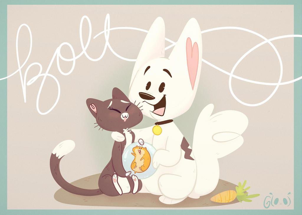 Bolt Fan Art by GTOxOT
