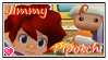 Jimmy and Pipotchi Stamp by SuziePatutie