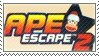 Ape Escape 2 Stamp by SuziePatutie
