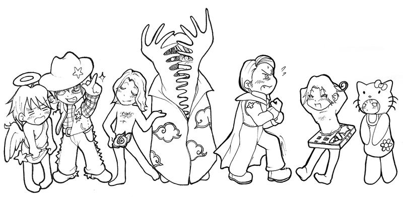 hetalia coloring pages allies - photo#33