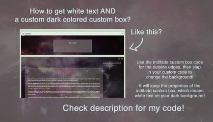 DARK custom box customization! by DemandinCompensation