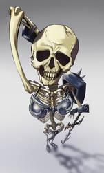 Bikini Armor Skeleton