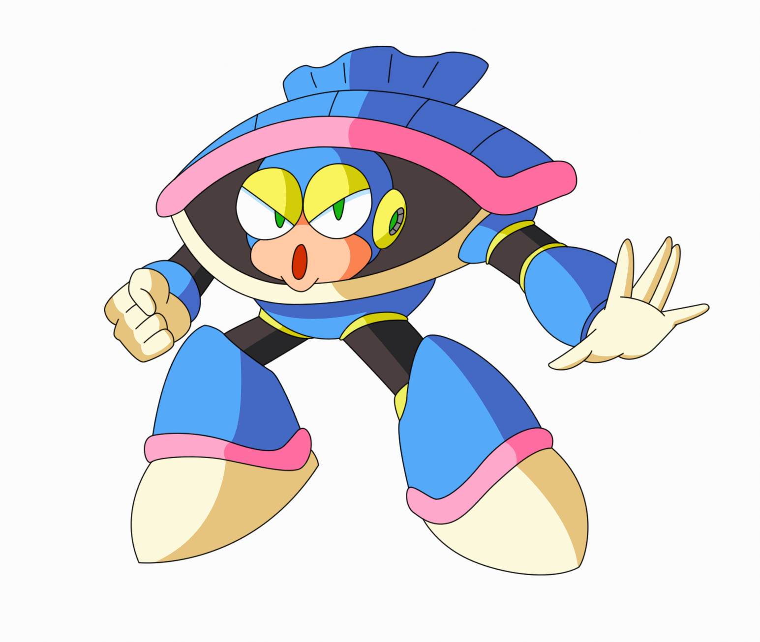 Original: Shell Man by DuoDynamo