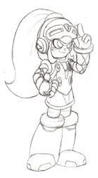 Female Beck sketch by DuoDynamo