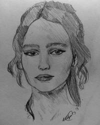 Lily Rose Depp by AllisArtWorld