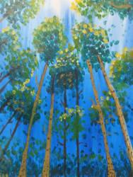 Trees in the Sunlight by TTGirlFan