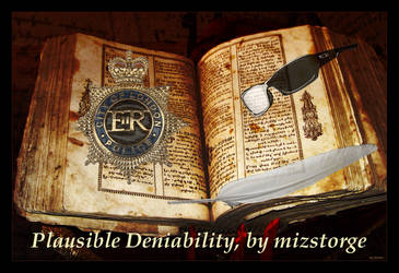 Plausible Deniability by SisterOfWar