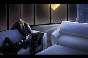 Commission: evilangel990 by sweetsasu