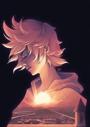 Twilight Roxas by sweetsasu