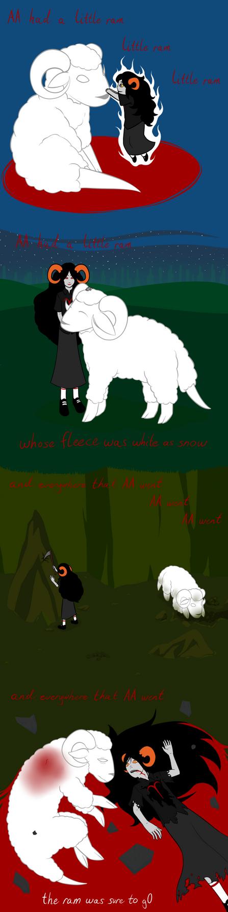 AA had a Little Ram by Elistanel