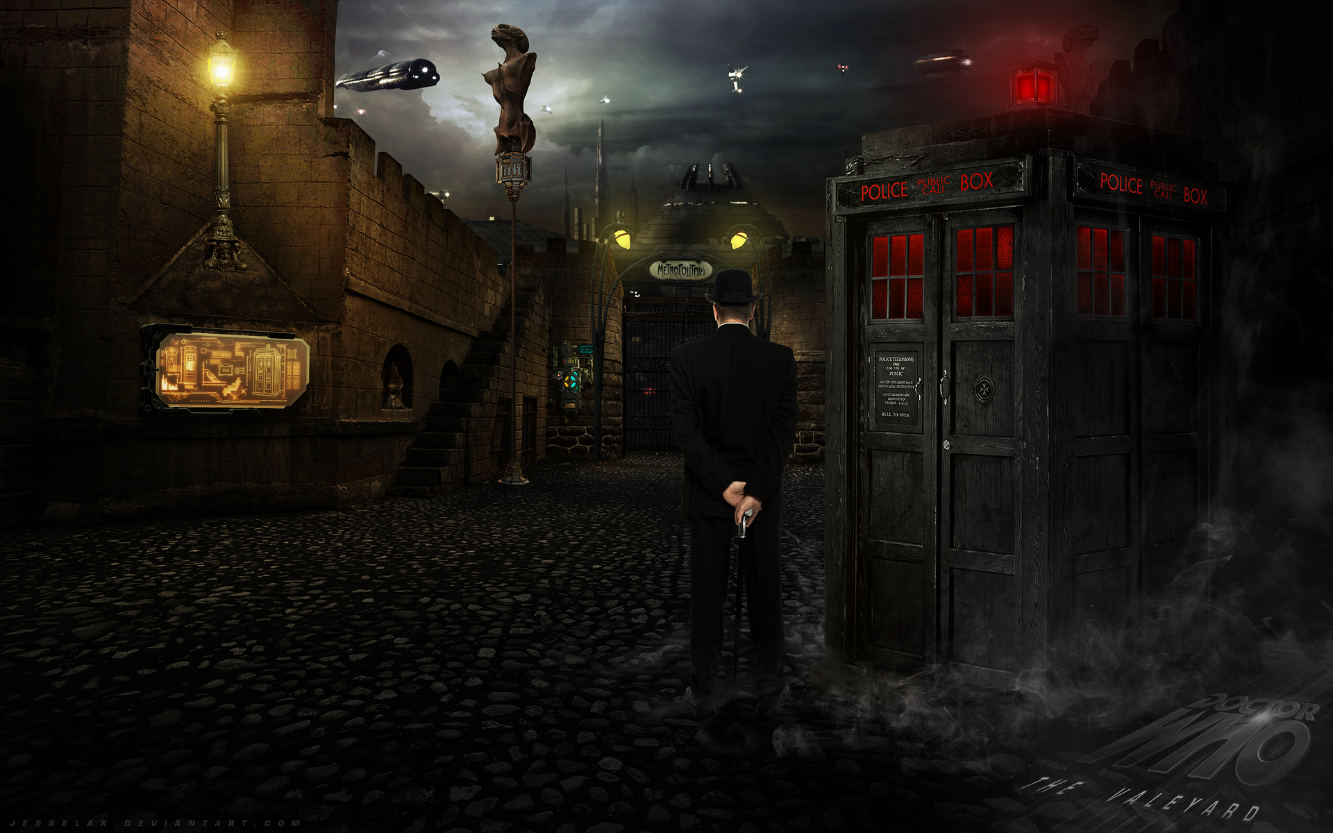 The Valeyard: New Rome by AHiLdesigns