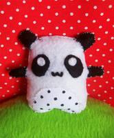 Polka Dots Panda by youtastelikecookies