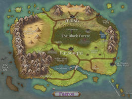 The Map of Faeros