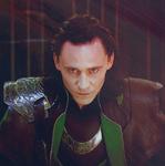 Loki's beautiful face