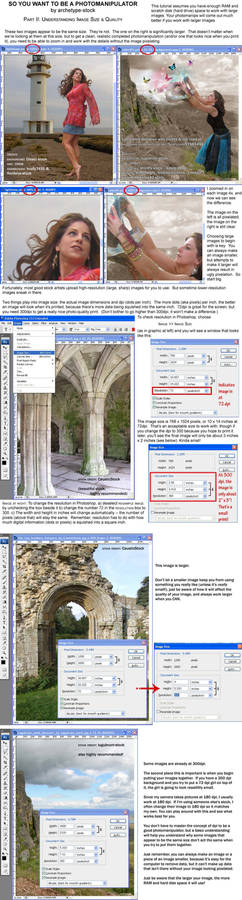 Understand Image Size +Quality
