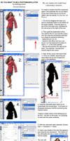 Creating Photomanip Shadows