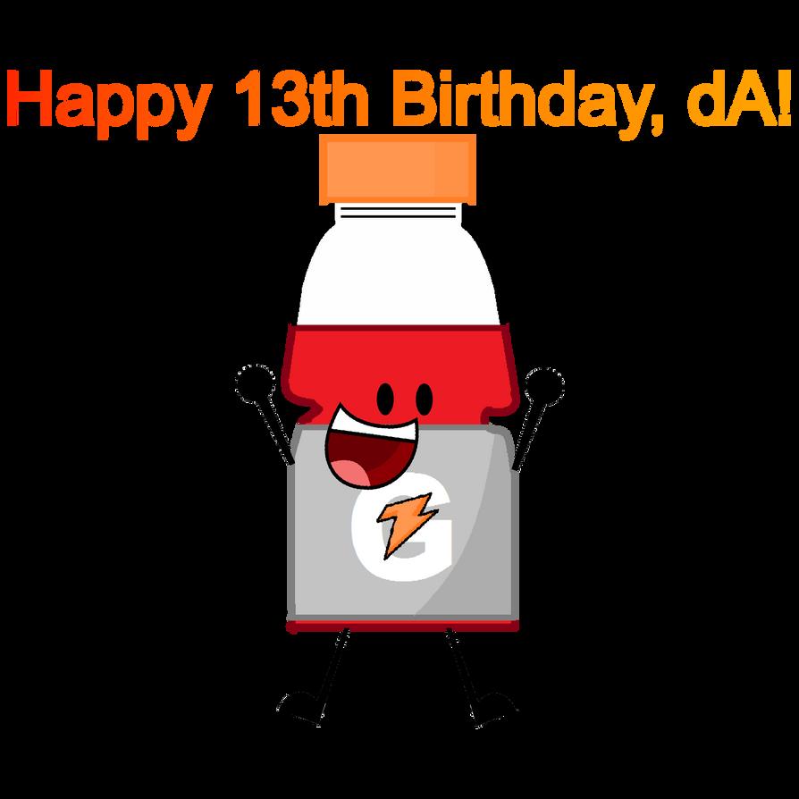 Happy 13th Birthday, DeviantART! By MrSonicFan37
