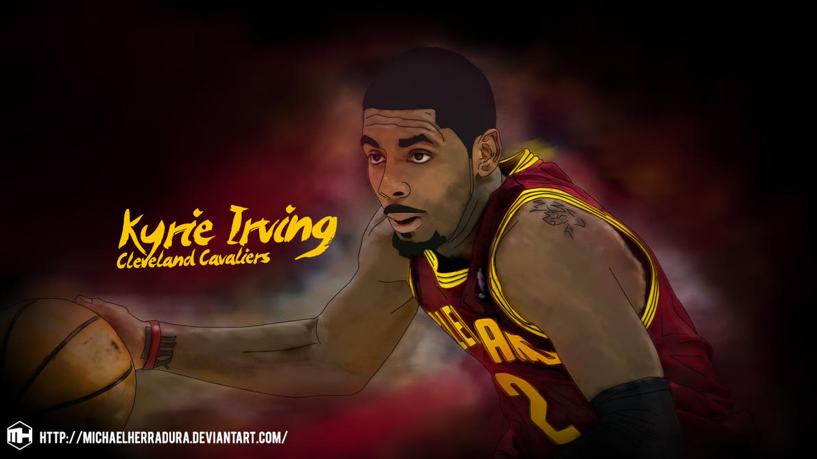 Kyrie Irving Paint Wallpaper By Michaelherradura