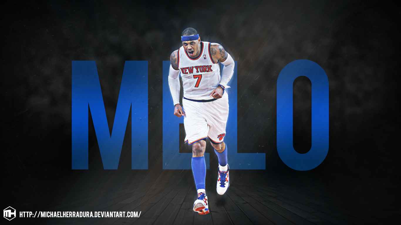 Carmelo Anthony wallpaper by michaelherradura