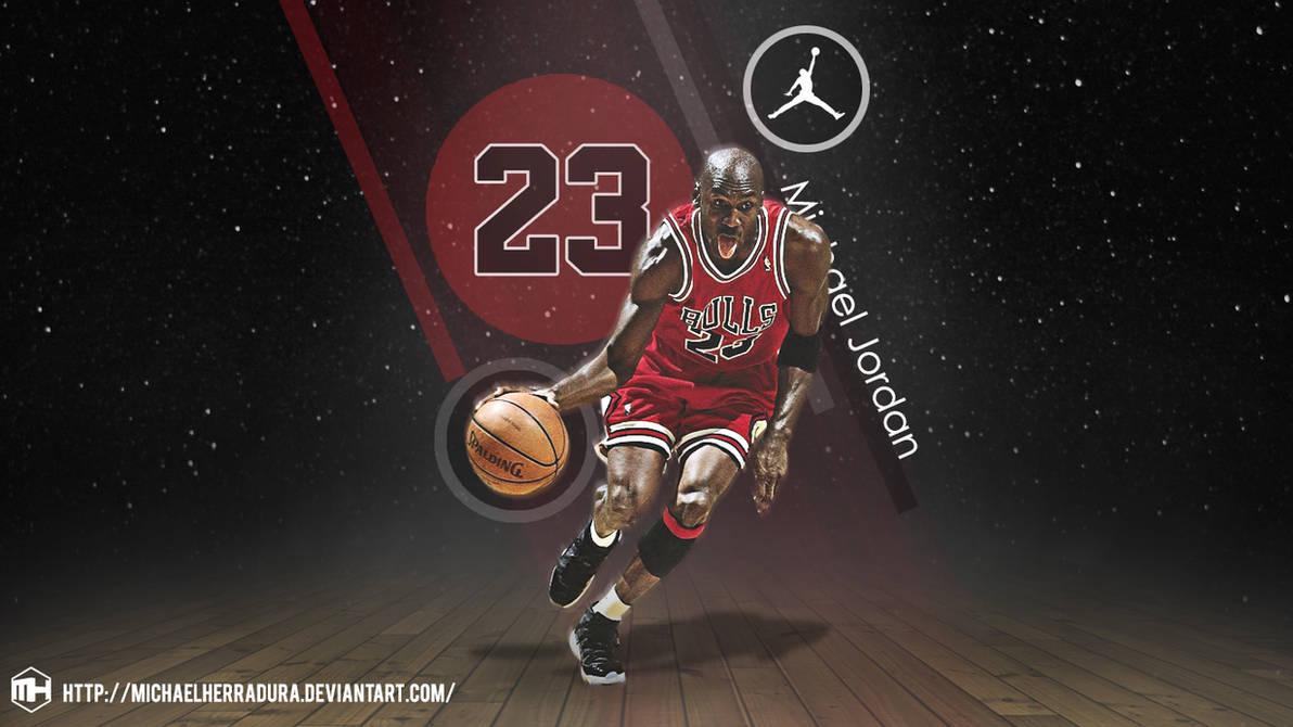 Michael Jordan 50th Wallpaper: Michael Jordan Wallpaper By Michaelherradura On DeviantArt
