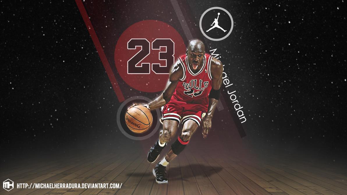 Michael Jordan wallpaper by michaelherradura