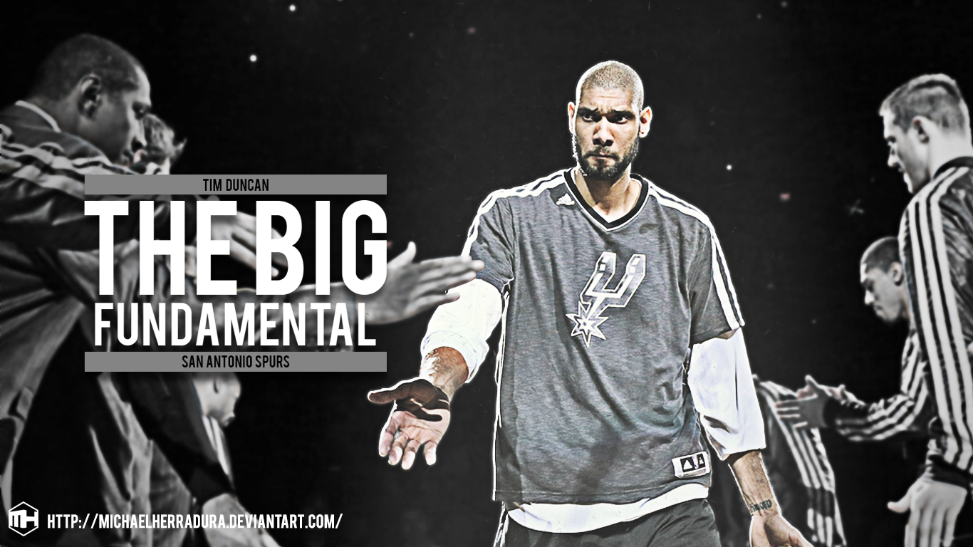 Tim duncan wallpaper by michaelherradura on deviantart - Tim duncan iphone wallpaper ...