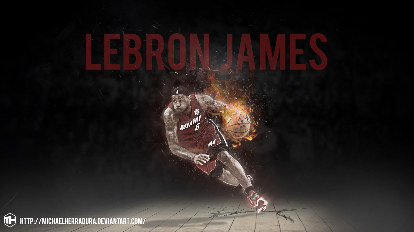 Great Wallpaper Mac Lebron James - lebron_james_wallpaper_by_michaelherradura-d66qstl  Pictures_403310.jpg
