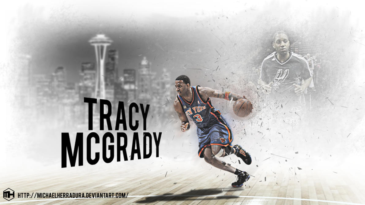 Tracy Mcgrady wallpaper by michaelherraduraTracy Mcgrady Wallpaper