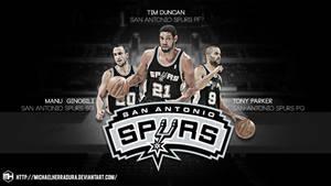 San Antonio Spurs BIG 3 wallpaper