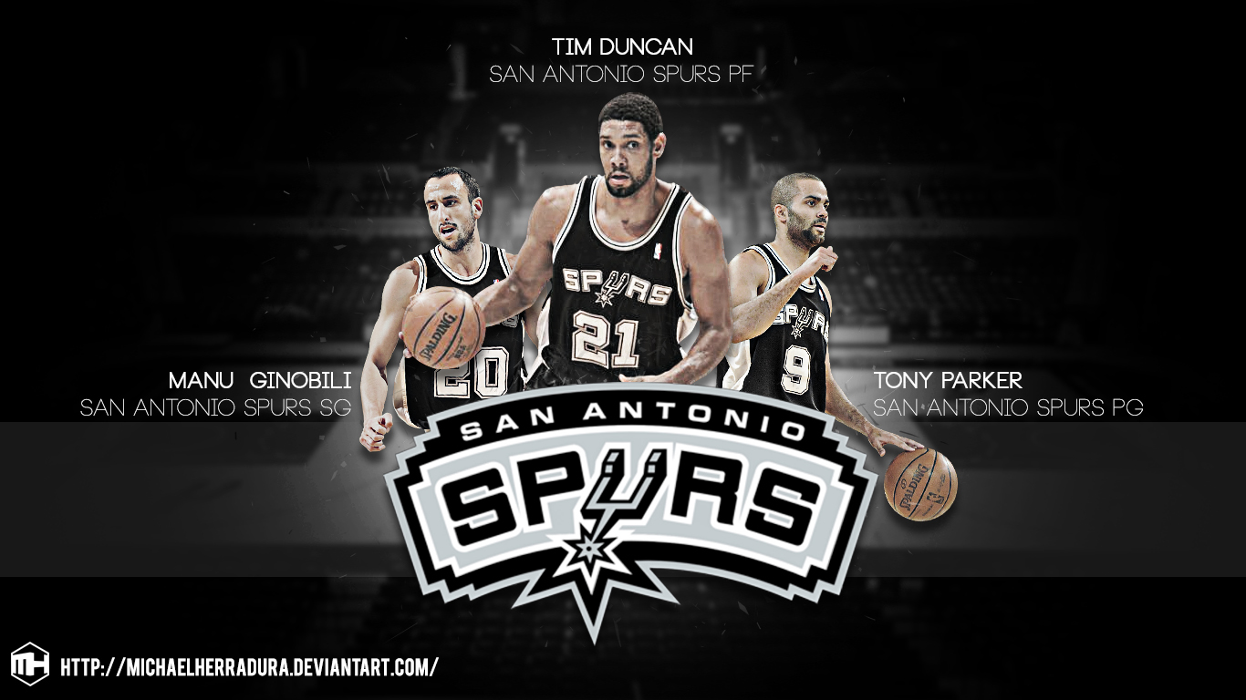 deviantART: More Like San Antonio Spurs BIG 3 wallpaper by