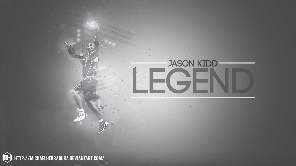 Jason kidd legend wallpaper by michaelherradura on deviantart jason kidd legend wallpaper by michaelherradura voltagebd Image collections