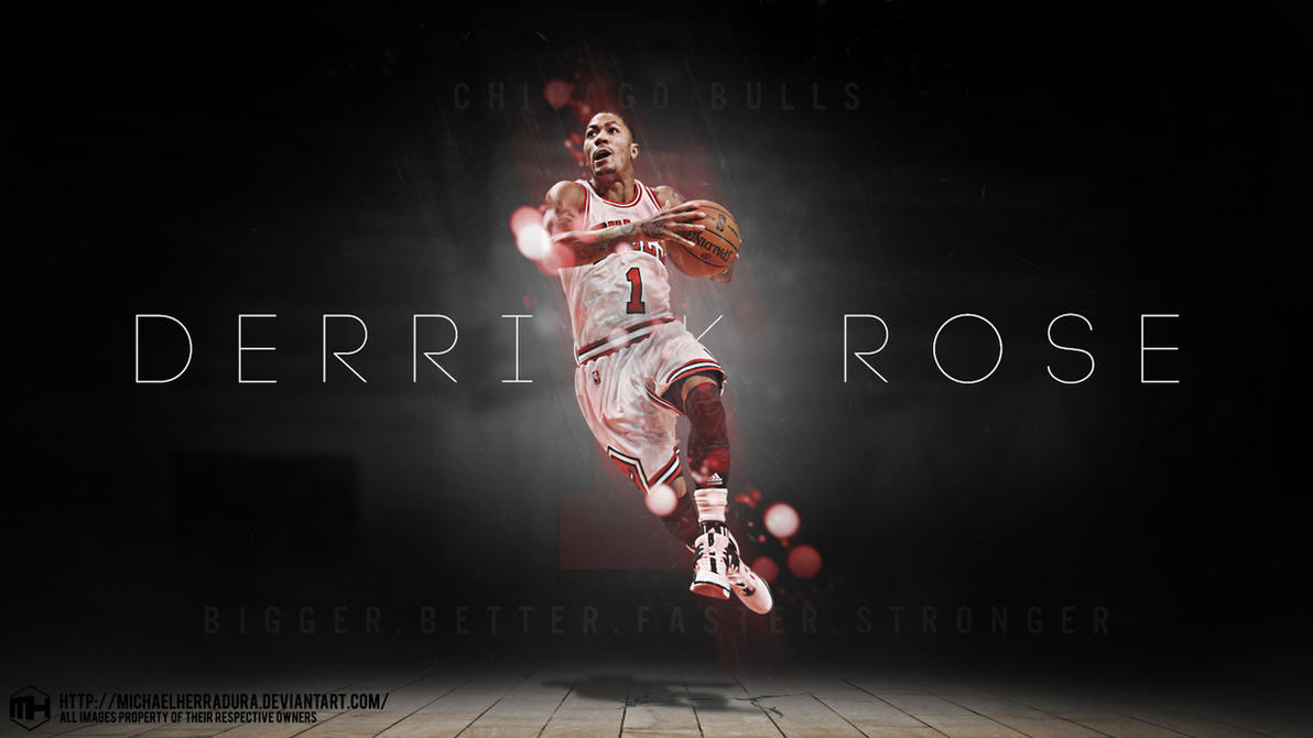Derrick Rose Wallpaper By Michaelherradura