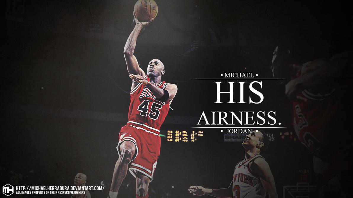 Amazing Wallpaper Logo Michael Jordan - michael_jordan_his_airness_wallpaper_by_michaelherradura-d6co3j0  Picture_533432.jpg
