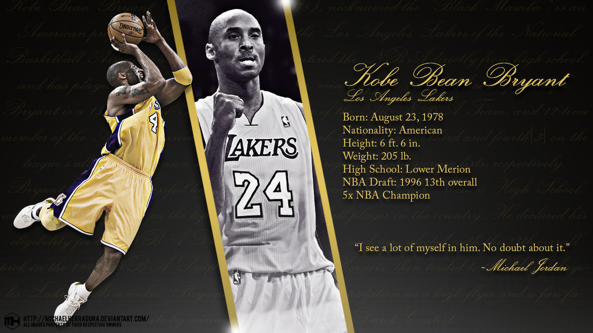Kobe bryant wallpaper by michaelherradura on deviantart kobe bryant wallpaper by michaelherradura voltagebd Gallery