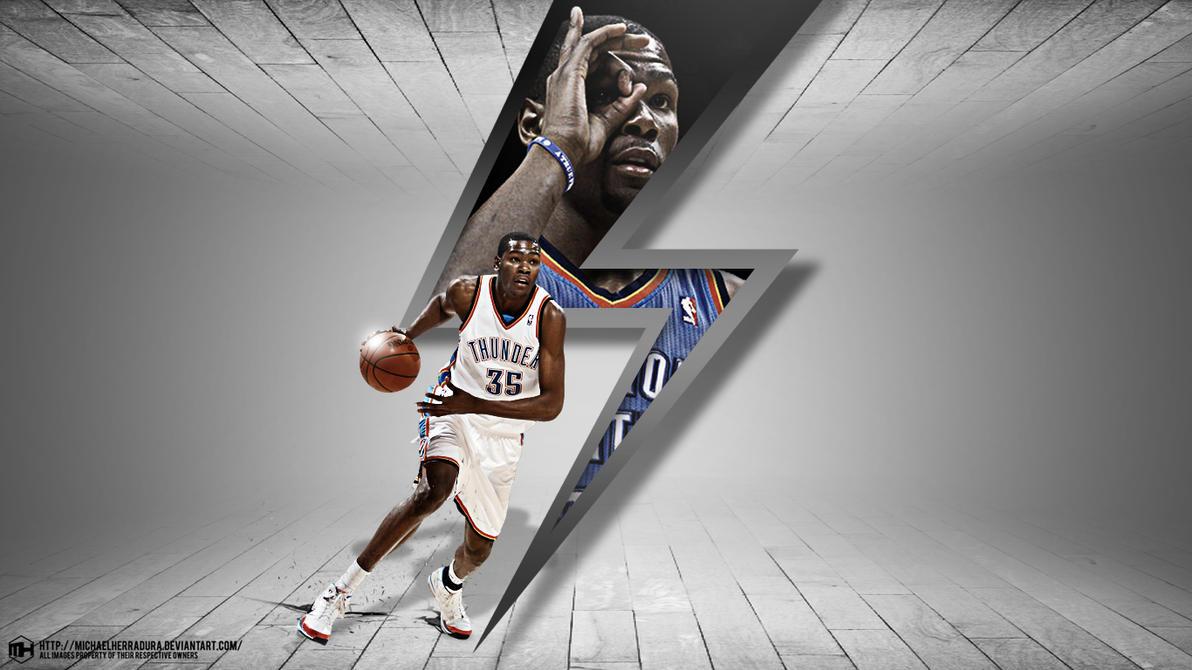 Best Wallpaper Logo Kevin Durant - kevin_durant_wallpaper_by_michaelherradura-d6wwujj  HD_45661.jpg