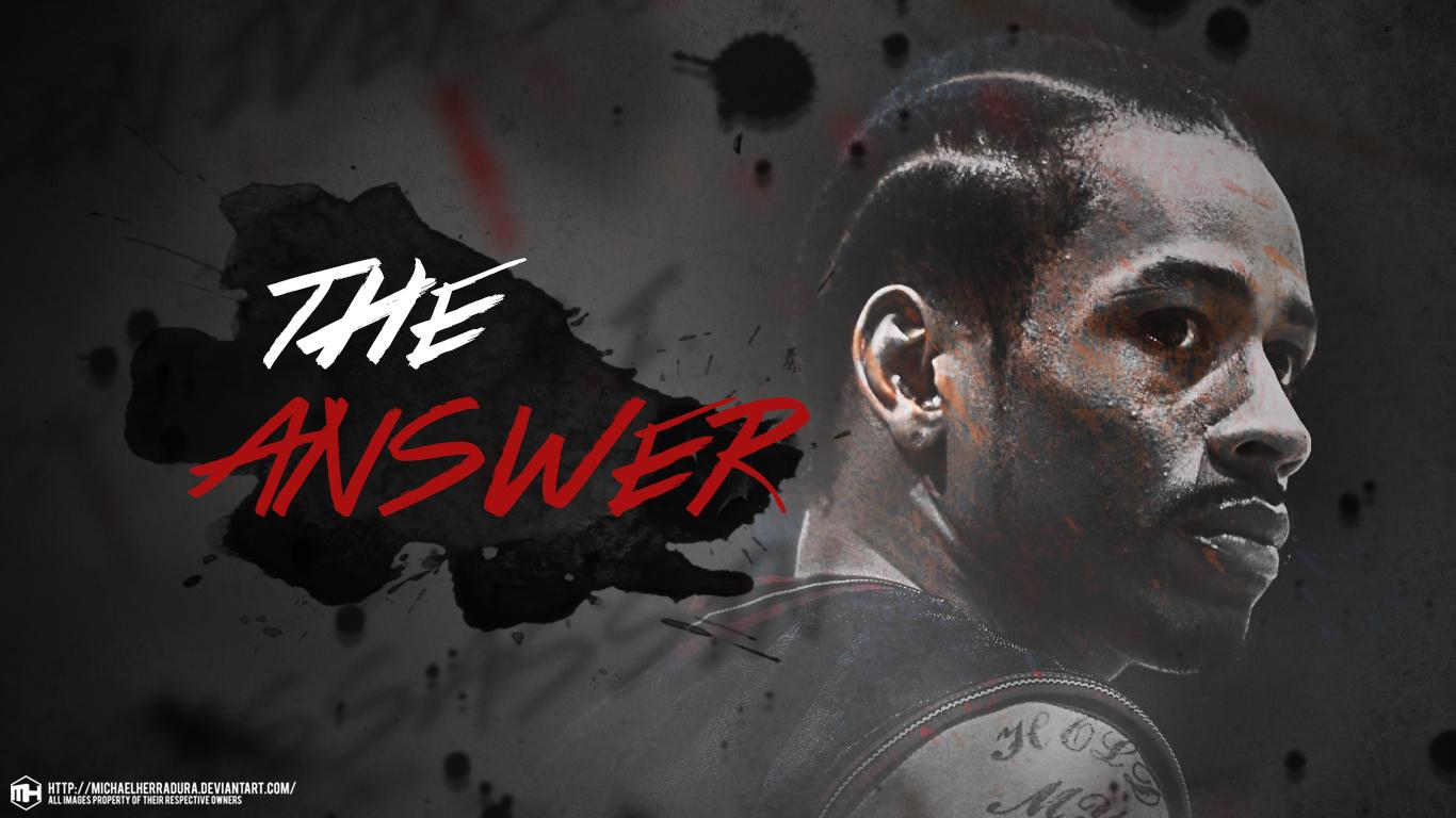 Allen Iverson The Answer wallpaper by michaelherradura on ...